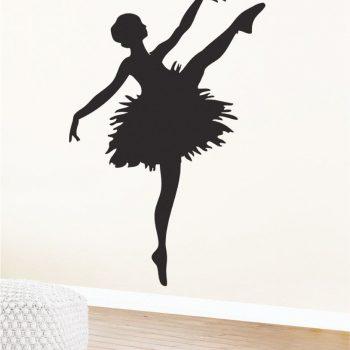 Szablon do pokoju dla dziewczynki - Baletnica 1