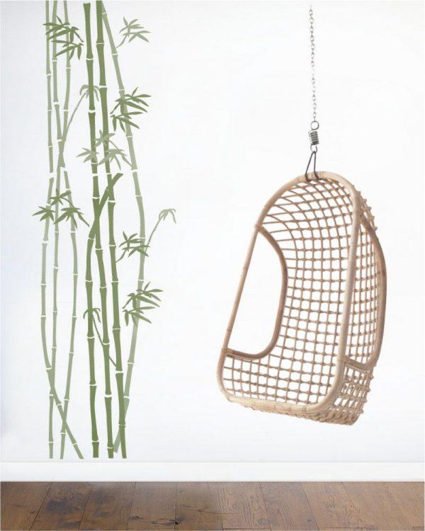 Szablon malarski z tworzywa Bambus 1