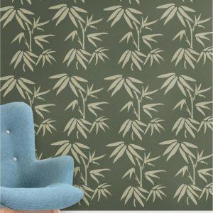 Szablon malarski Bambus 2 - szablon z tworzywa