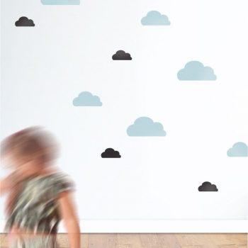 Mini szablon z tworzywa Chmurka 1