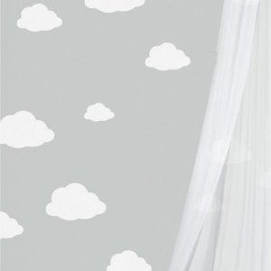 Mini szablon chmurka 2 - wielorazowy dla dzieci