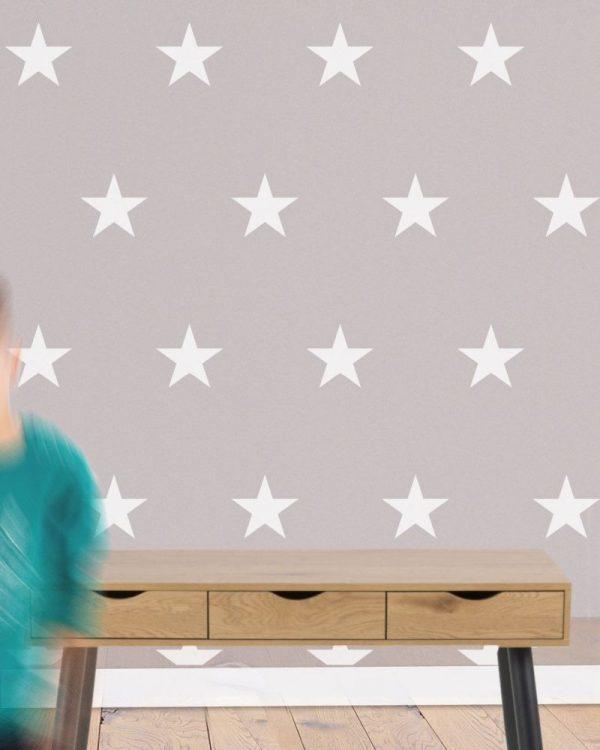Szablon do malowania z tworzywa Tapeta Gwiazdki 3