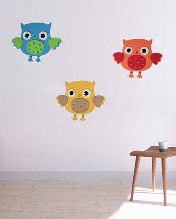 Pianka Sowy - dekoracja do pokoiku dla dziecka