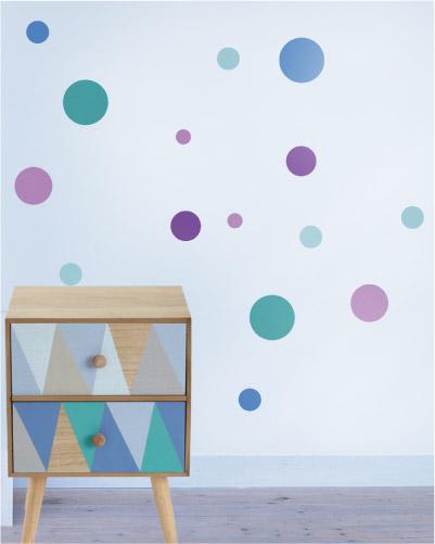 Mini szablon do malowania KROPKA 1
