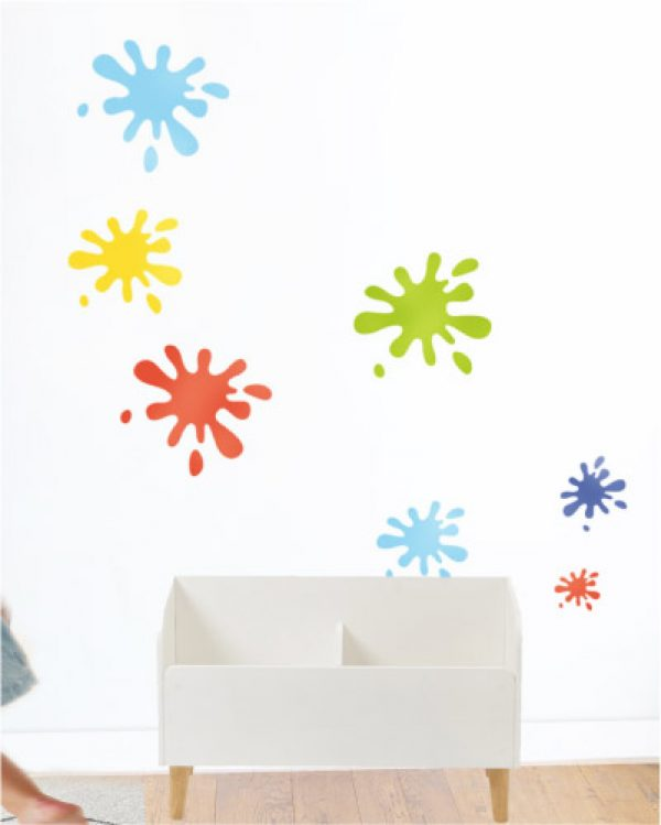 KLEKS 1 - Mini szablon do malowania 5 szt.