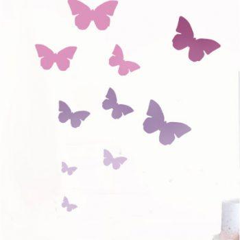Mini szablon do malowania MOTYL 1